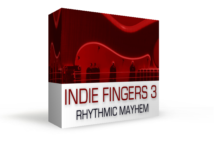 Indie Fingers Three - Electric Guitar Sample Library